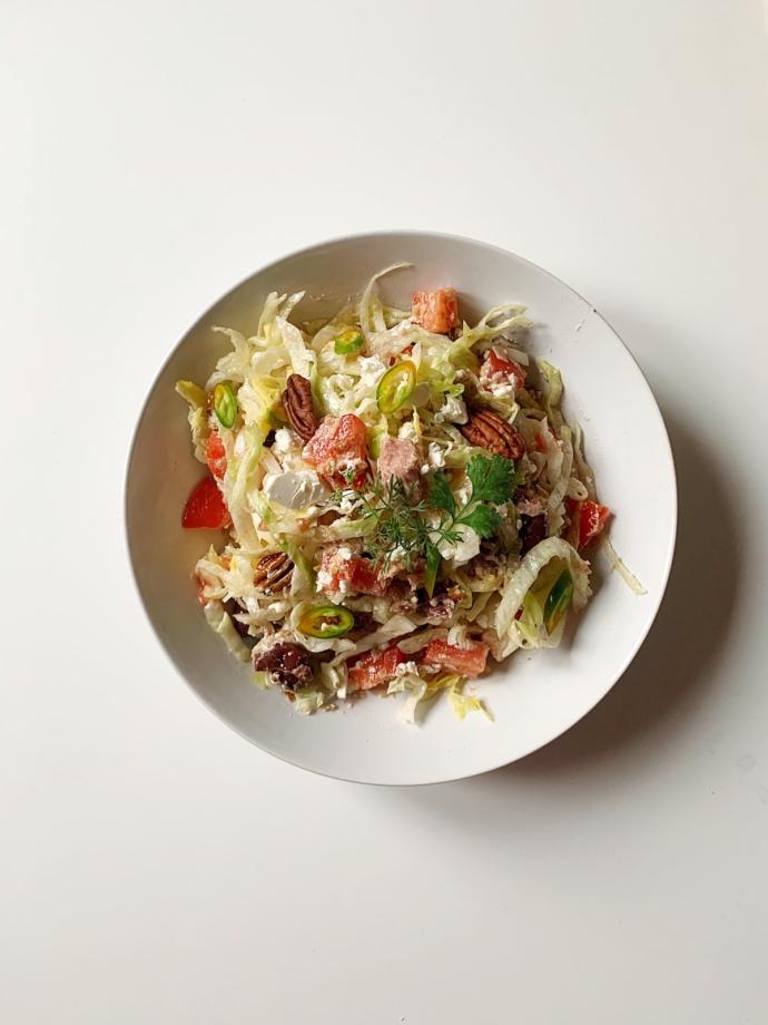 hrskava keto tuna salata
